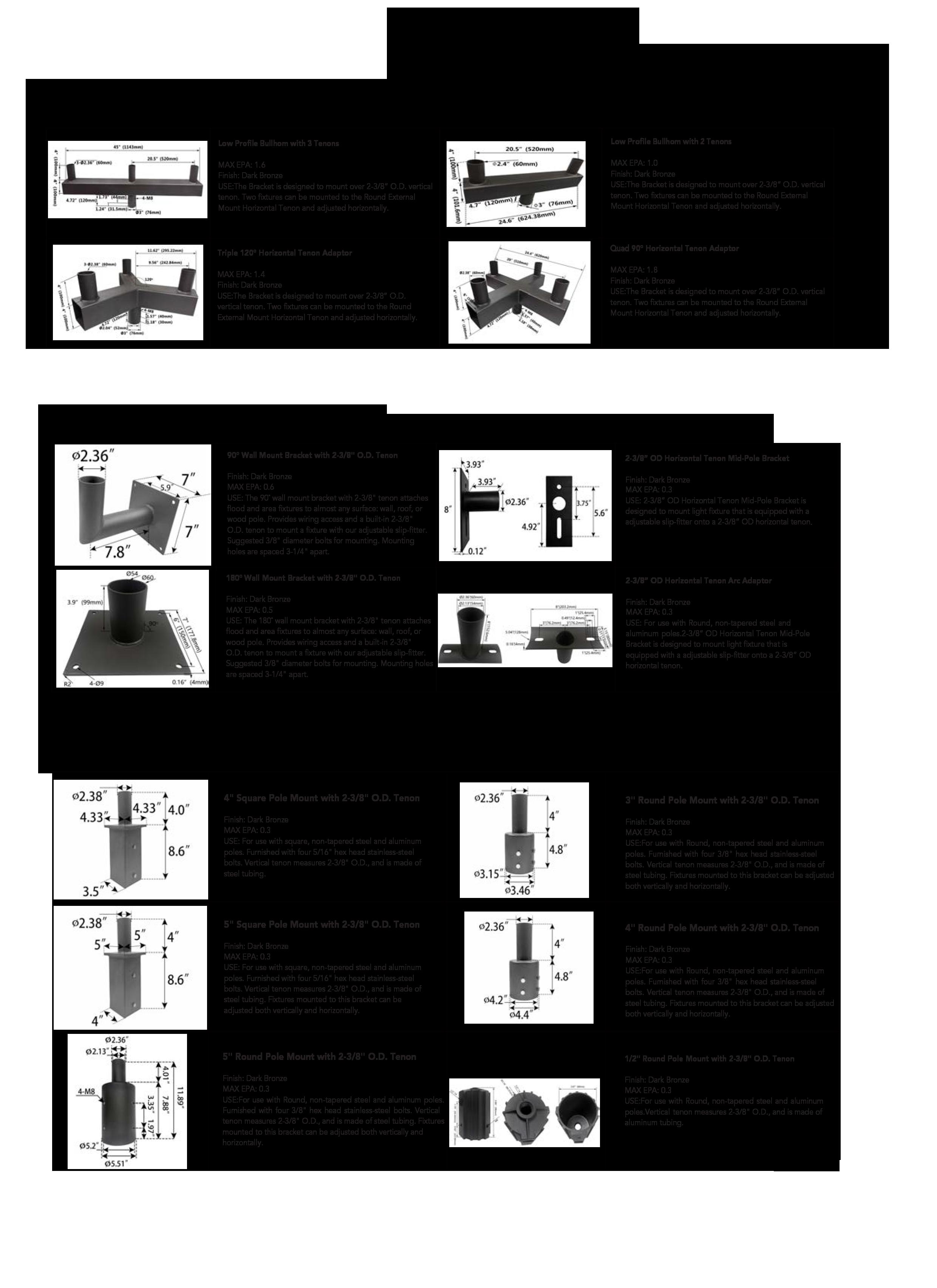 Light poles straight round steel-3