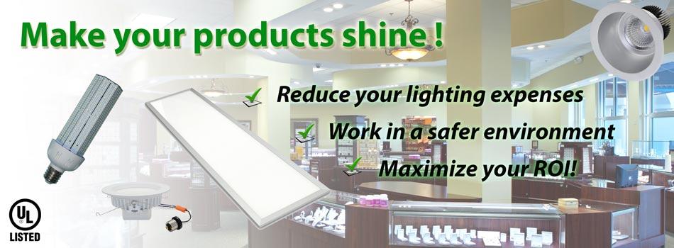 Retail Store Lighting