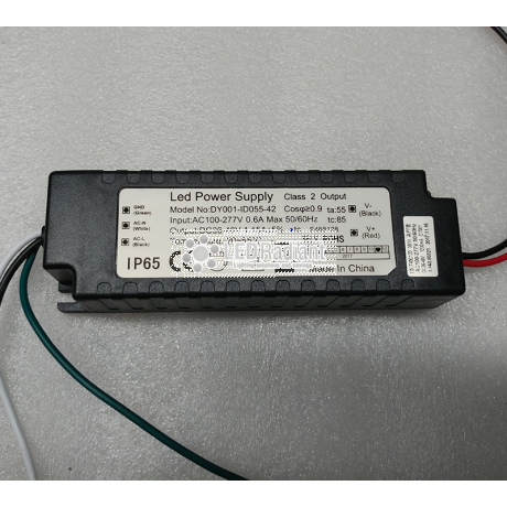 PART: Driver for 55W CSJ-SWS-55650-50 Canopy fixture.