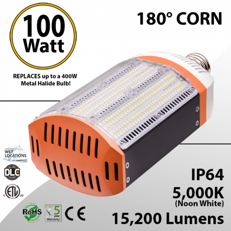 400 watt Metal Halide Led Replacement 100W - BEN-GPC-1J15B-50