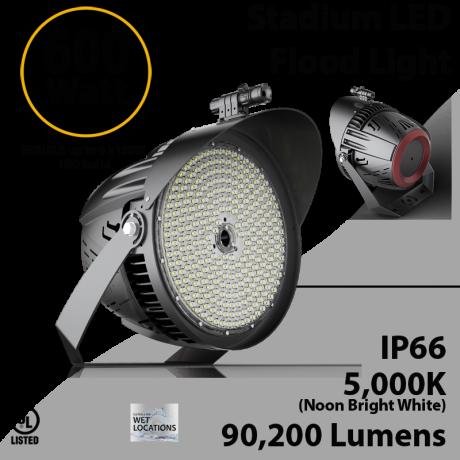Stadium Lights 600W 90200Lm IP66 UL