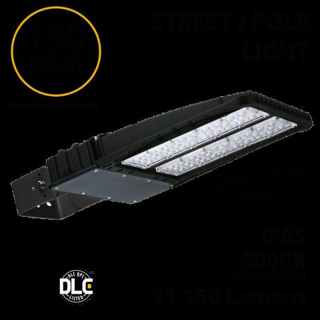 LED Street Light Parking Lot Light 21150 Lumens 5000K UL IP65