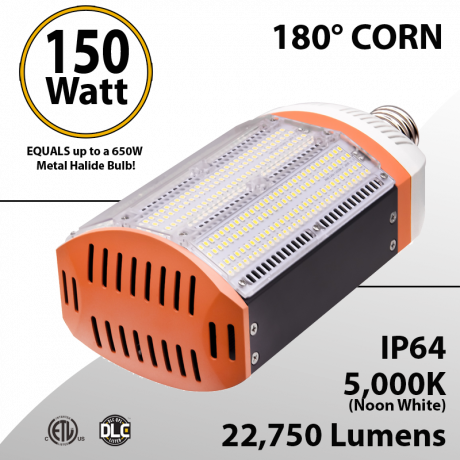 Metal Halide Led Replacement 150W 5000K