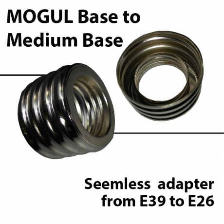 mogul to medium base adapter