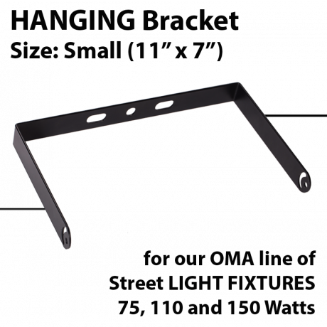 Hanging bracket for OMA-GWE/GNE Series. Size Small