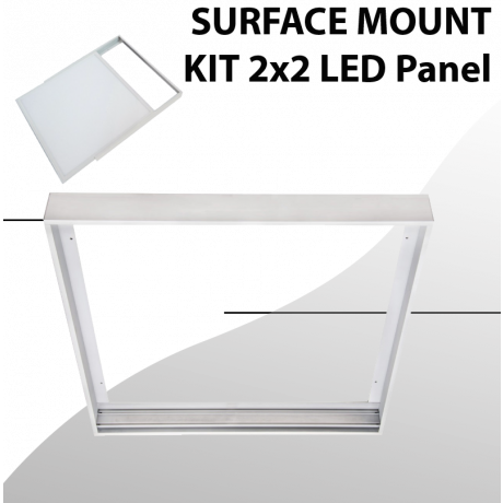 Surface mount aluminum Kit for Panel 2x2