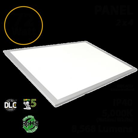 LED Panel 72W 5000K 8568 Lumens