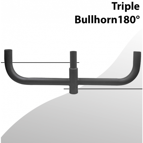 Bullhorn Triple 180 degree