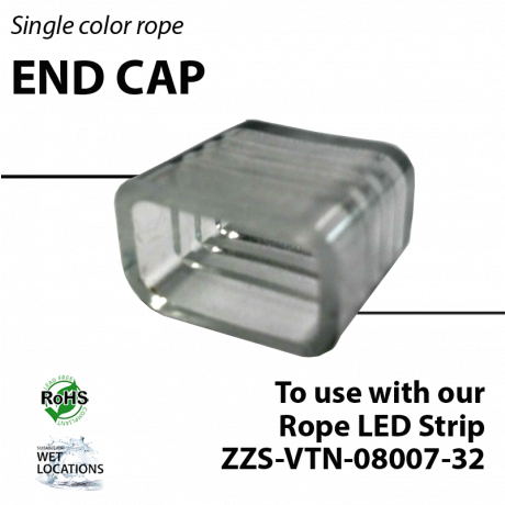 End cap for ZZS-VTN-08007-32
