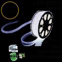 2.4 Watt p/feet LED STRIP Ropelight 164 ft Color Blue 70 Lm p/watt