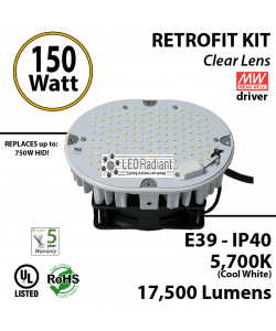 700 Watt hid Replacement for this 150W LED retrofit kit 6000K