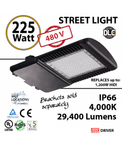 225 Watt LED 1000w Halogen Replacement 29400Lm Hid or hps lamps 480v