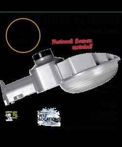 45w LED Dusk to dawn light 4500 Lumens 5000K natural white