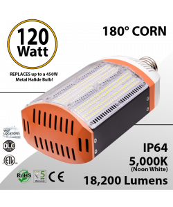 450W Metal Halide Led Replacement 120W - BEN-GPC-1B18B-50