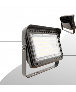 LED flood light 50W 5000K with yoke mount 5820 lumens