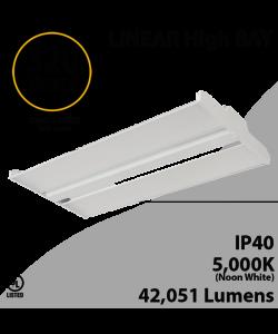 High Bay Led Light 4Ft. 320W 42051 Lumens 5000K UL DLC