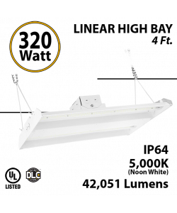 High Bay Led Lights 320W 42051 Lumens 5000K UL DLC