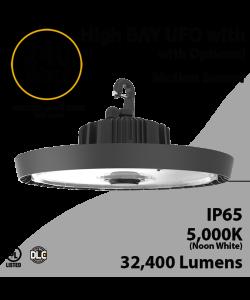 UFO Light LED High Bay 240W Motion Sensor Ready 32400Lm 5000K