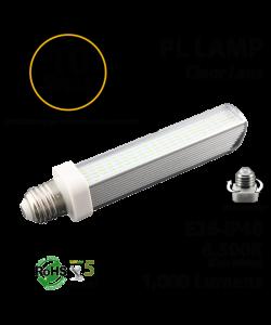 10W, PL LED Bulb lamp, 6500K, E26, UL.  Direct Line (Remove Ballast)
