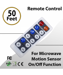 Remote Control for Microwave Motion Sensor On/Off Function