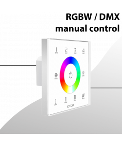 DMX Controller Touch Panel for wall mount