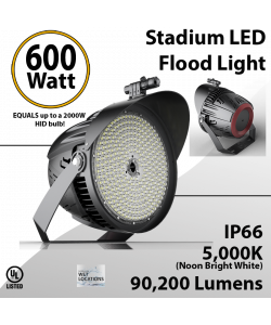 Sports Lights 600W 90200 lumens IP66 UL