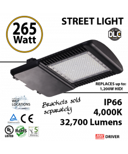 265 Watt LED 1200w Halogen Replacement 32700Lm