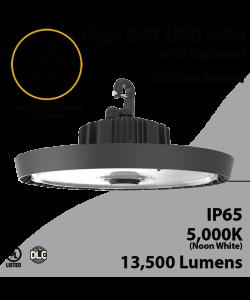 UFO Light LED High Bay 100W Motion Sensor Ready 13500Lm 5000K