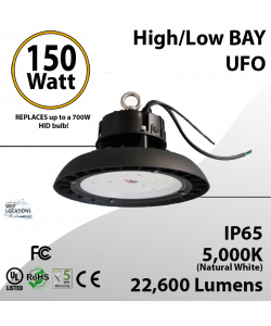 150 Watt LED 750w Metal Halide Replacement 22600 lumens