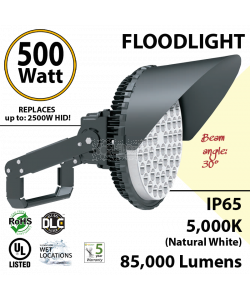 360W LED Floodlight 83500 Lm 5000K IP65 CE SAA UL