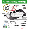 225 Watt LED 1000w Halogen Replacement 28600Lm Hid or hps lamps 480v