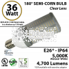 Replacement up to 310W Metal Halide in shoebox up to 15ft.