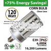 LED Corn Bulb light 120W 16200Lm 6000K IP65