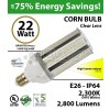 100w HID Replacement Bulb 24 Watt LED Corn Light 2800Lm 2300K