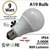 A19 9W 280 Beam Angle 5000K 800 Lm E26 not dimmable