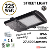 225 Watt LED 1000w Halogen Replacement 27400Lm Hid or hps lamps