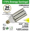 36W LED Corn Bulb Lamp 4600Lm 5000K IP64 E39* UL