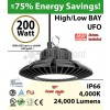 900 Watt hid Replacement for this 200W LED UFO light 4000K 110Volts