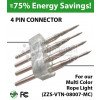 Connection Pin for multi color rope light (ZZS-VTN-08007-MC)