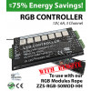 RGB Controller for storefront LED lights - 3 Channel with Remote