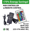 Remote control for multi color rope light (ZZS-VTN-08007-MC)