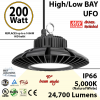 900 Watt hid Replacement for this 200W LED UFO light 5000K 110Volts