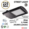 225 Watt LED 1000w Halogen Replacement 29800Lm Hid or hps lamps