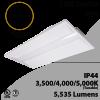 2x4 LED Troffer 30 35 42W 5535Lm Tunable 3500 4000 5000K