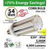 54 Watt LED 300w Halogen Replacement 6900Lm 5000K