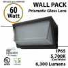 60w LED Wall Pack Light Fixture 300 Watt HID/Mh Wallpack Equivalent