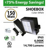 150w LED shoebox Light Fixture Replaces 700 Watt MH gas station