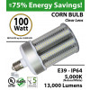 LED Bulb 400 Watt Equivalent 100W Corn Light 13000 Lumens 5,000K