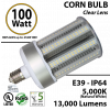 100W LED Corn Bulb 400 Watt Equivalent 13200 Lumens 5,000K