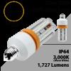 LED Corn Bulb 15 Watt 1727 Lm 3000K E26 IP64 ETL DLC